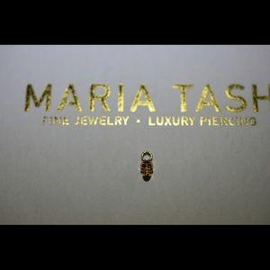 Maria Tash 5mm Ruby Eyes Skull